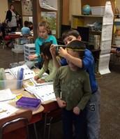 Practicing measuring