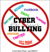 Where can cyber-bullying happen?