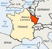 L'Histoire de Alsace-Lorraine