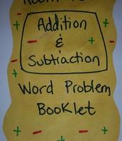 Word problem booklet