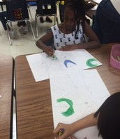 Working hard in art and Music!