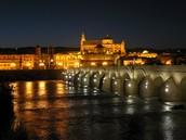 La Mezquita de Córdoba iluminada