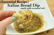 Italian Bread Dip using essential oils