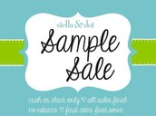 Sample Sale ~ Up to 70% off