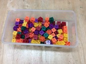 100 cubes