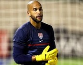 Tim Howard has Tourette Syndrome.