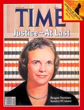 7. Appointment of Sandra Day O'Connor