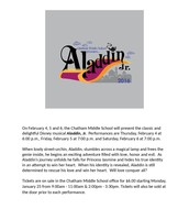 THIS WEEK - Aladdin Jr. @ CMS