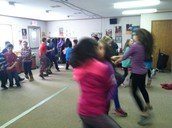 Dancing a Jig in Music Class with Mrs. Ryan
