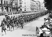 July 4, 1917- AEF (american expedition forces) arrives in Paris