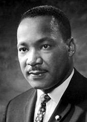 Martin Luther King Jr. (Holiday on Monday, January 18th)