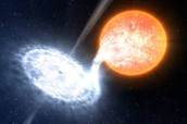 What does a black hole do?