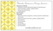 Merrilee Anderson's Design Services