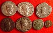 Monedas de la antigua Roma