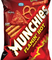 If you get the munchies then just start eating