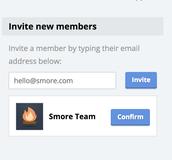 Inviting new members