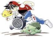 Pokemon Adventures the monga book