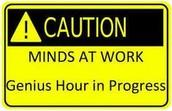 Genius Hour Fair Schedule
