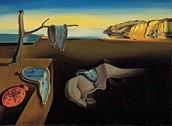 """למה השעונים נוזלים בציורו של דאלי שנקרא """"התמדת הזיכרון"""""""