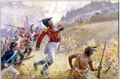 Battles on land