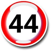 The number 44