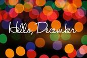 GCIS December Professional Development Calendar