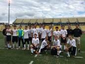 Boys soccer team play at Mapfre Stadium