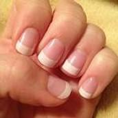 Basic French manicure