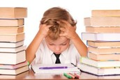 Overly assigning homework causes stress and depression in students