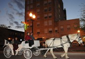 Carriage Rides in Downtown Bryan