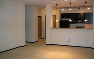 Spacious open-floor plans!