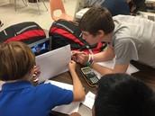Zoom.us activity between Math Classes