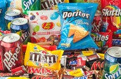 Loots of bad food in the world.