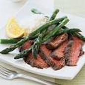 Orange-Soy Beef with Asparagus