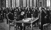 Treaty of Versailles was Signed - June 28, 1919
