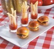 Mini Burger N Fries