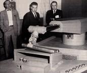 1954 First industrial robot