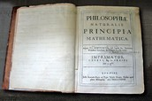 Isaac Newton's first edition copy of his Philosophiae Naturalis Principia Mathematica