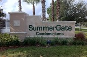 I live in Summer Gate Condominiums.