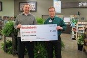 Brookshires Grocery Store Donates $1,000