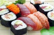 This is chinese sushi