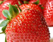 Up Close Picture of a Strawberry