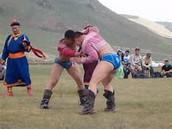 wrestling in mongolia