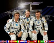 the first ISS crew