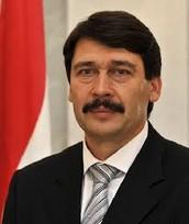 The president of Hungary is János Áder