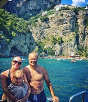 The Shaw Family in Italy