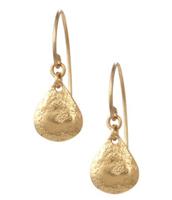 Demi drop earrings- gold