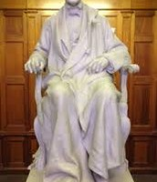 His Memorial Statue!