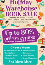 Announcing the Scholastic Warehouse Sale