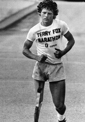 Terry Fox Showed Courage